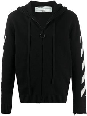 Off-White Arrows zipped cardigan