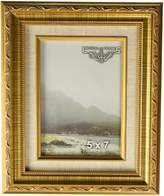 Imperial Frames 6141013 10 by 13-Inch/13 by 10-Inch Picture/Photo Frame, Dark with Floral Design and A Canvas Liner