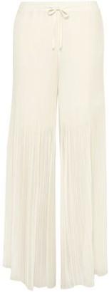 By Malene Birger Ohana Pleated Chiffon Wide-leg Pants