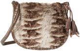 Steven Eldora Faux Fur Saddle Bag