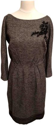 La Perla Grey Wool Dresses