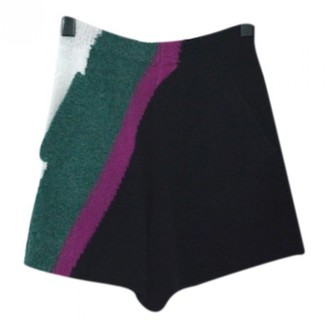 Christian Wijnants Multicolour Wool Shorts