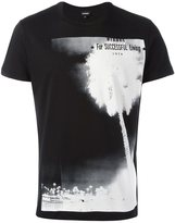 Diesel palm tree print T-shirt