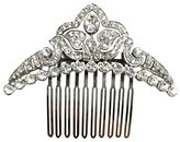 Ben-Amun Women's Bridal Wedding Tiara Hair Comb with Swarovski Crystal