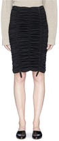 The Row 'Aldona' ruched pencil skirt