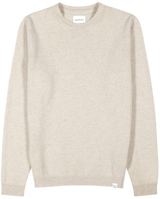 Norse Projects Sigfred stone wool jumper