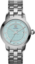 Tory Burch TRB1008 stainless steel/blue watch