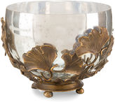 John-Richard Collection 11 Ginkgo Accent Bowl, Brass