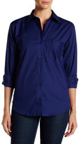 Foxcroft Long Sleeve Classic Fit Shirt