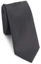 Saks Fifth Avenue MODERN Zig-Zagged Tie