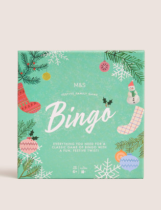 Marks and Spencer Christmas Bingo Game