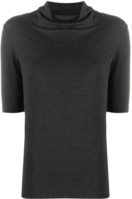 Majestic Filatures high-neck fitted T-shirt