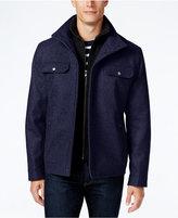 MICHAEL Michael Kors Big & Tall Wool-Blend Bib Hipster Coat