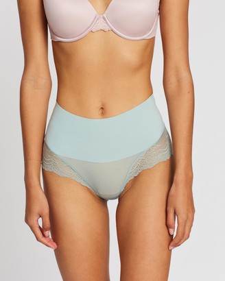 Spanx Undie-Tectable Lace Hi-Hipster Briefs