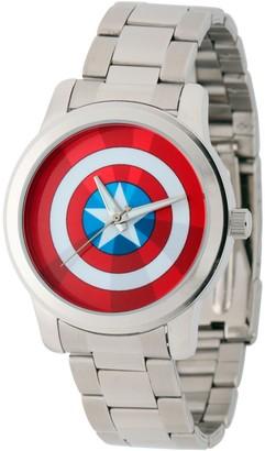 Marvel Comics Marvel Captain America Men's Bracelet Watch