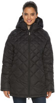 Hemisphere Women's Hooded Quilted Packable Down Jacket