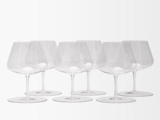 Richard Brendon - X Jancis Robinson Set Of Six Wine Glasses - Clear