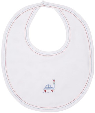 Kissy Kissy Airplane Print Bib