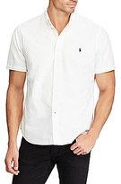 Polo Ralph Lauren Big & Tall Solid Oxford Short-Sleeve Woven Shirt