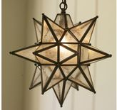 Pottery Barn Olivia Indoor/Outdoor Star Pendant