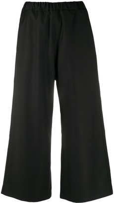 Sofie D'hoore Cropped Wide-Leg Trousers
