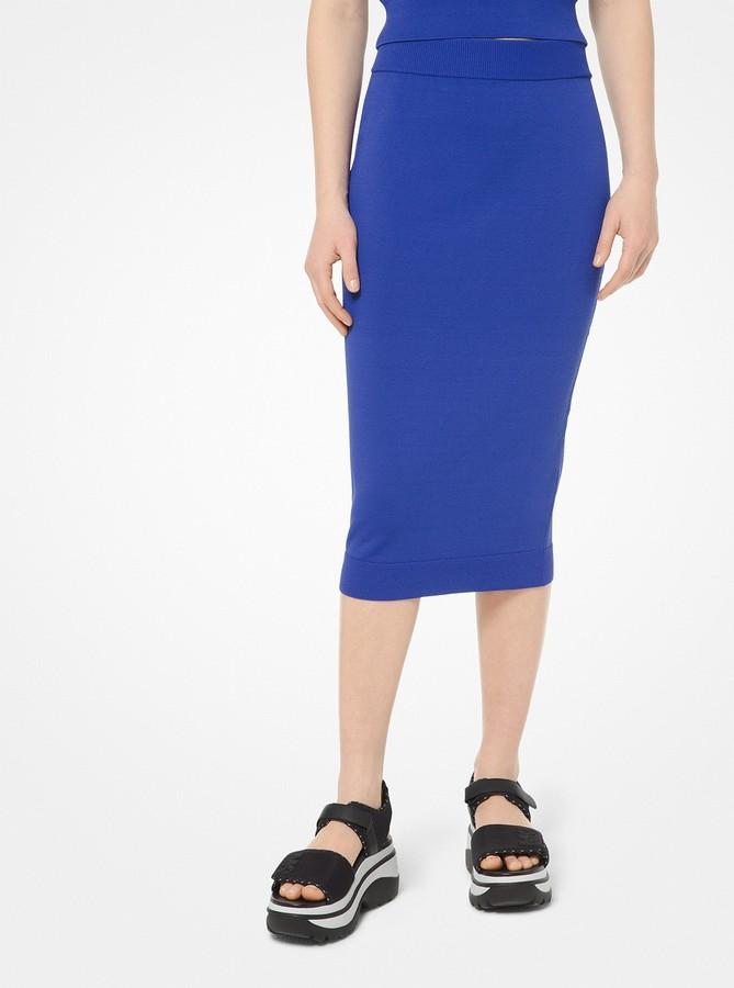 cb4101cffd Viscose Elastane Skirt - ShopStyle
