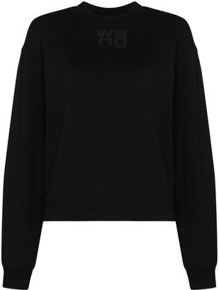 alexanderwang.t Logo Print Sweatshirt