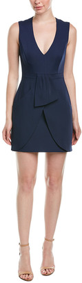 BCBGMAXAZRIA Draped Sheath Dress
