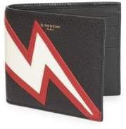 Givenchy Flash Leather Bi-Fold Wallet