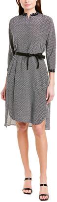 Max Mara Silk A-Line Dress