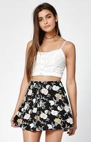 KENDALL + KYLIE Kendall & Kylie Textured Button-Front Tank Top