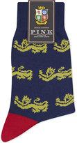 Thomas Pink Thomas Pink Lions Grabiniok Cotton Socks