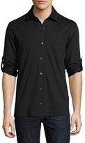 Tom Ford Jersey Pocket Shirt, Black