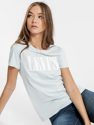 Levi's The Perfect 90's T-Shirt in Blue
