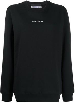 Alyx Graphic-Print Crew Neck Sweatshirt