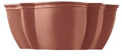 Ballantine Flush Mount Charlton Home Bulb Type: LED, Finish: Terra Cotta