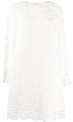 See by Chloe Crocheted Mini Dress