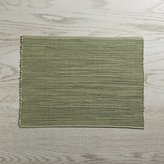 Crate & Barrel Sonoma Sage Green Placemat