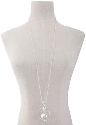Liz Claiborne 36 Inch Cable Pendant Necklace
