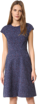 Lela Rose Blair Cap Sleeve Dress