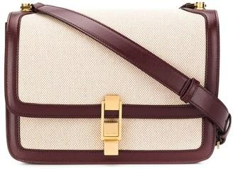 Saint Laurent Carre canvas satchel