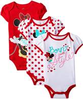 Disney Baby-Girls Minnie Mouse Bodysuit