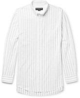 Balenciaga - Oversized Button-down Collar Cotton-jacquard Shirt