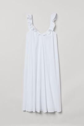 H&M Flounce-detail dress
