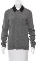 Rag & Bone Wool Leather-Accented Sweater