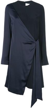 Victoria Victoria Beckham Wrap Style Evening Dress