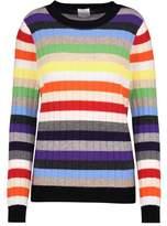 Madeleine Thompson Amber Rainbow Jumper in Multi Stripe