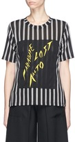 Aalto 'Paradise Lost' patch stripe T-shirt