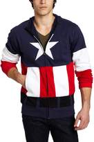 Marvel Captain America Men's Fleece Hoodie