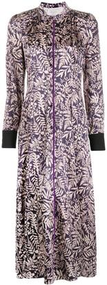 Forte Forte Floral Silk Shirt Dress